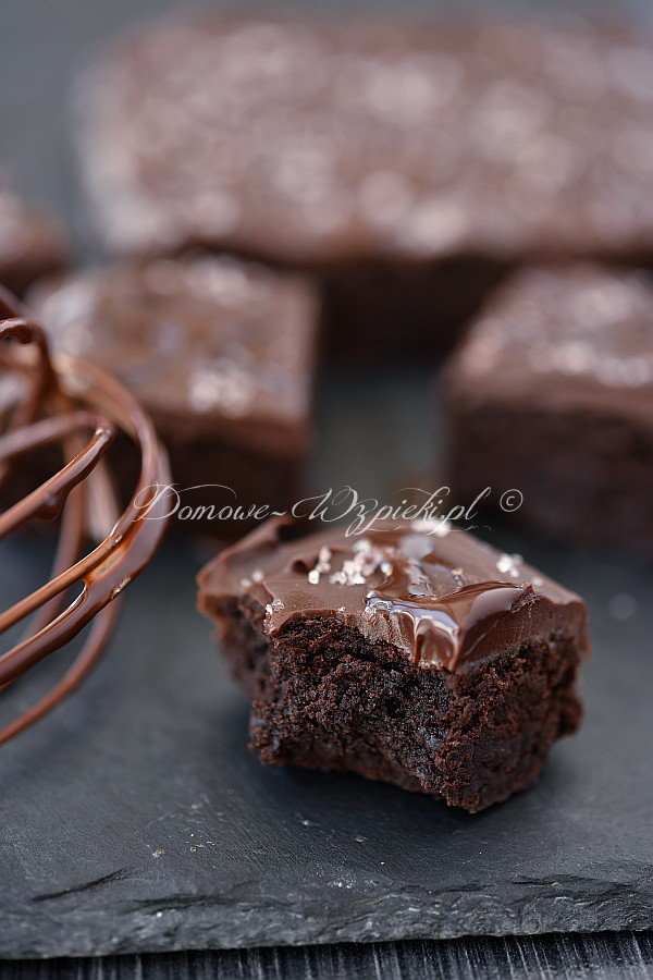 Fudge- Brownies z solą